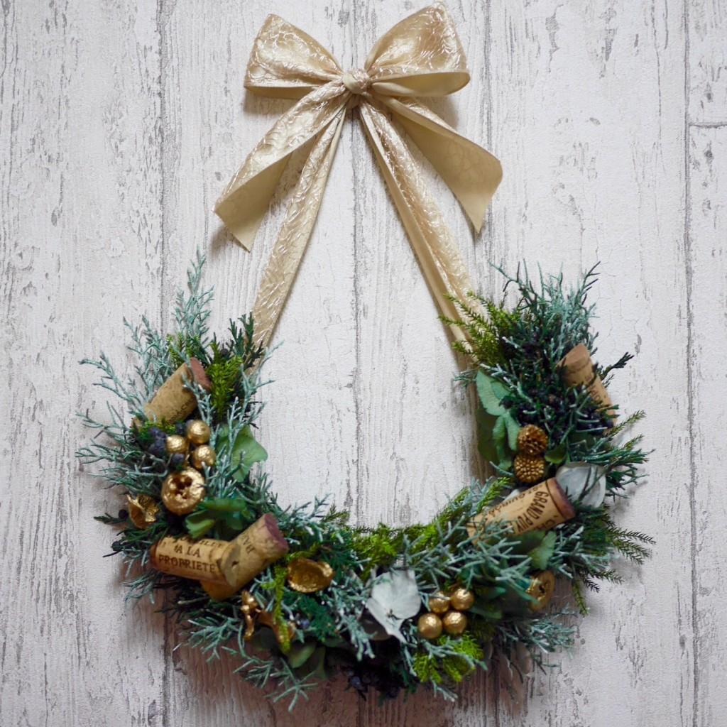 プリザーブドフラワー スワッグ クリスマス