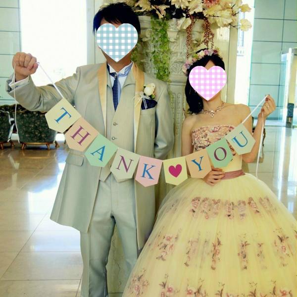 結婚式 前撮り 撮影小物