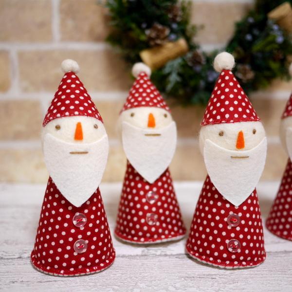 プリザーブドフラワー クリスマス サンタ