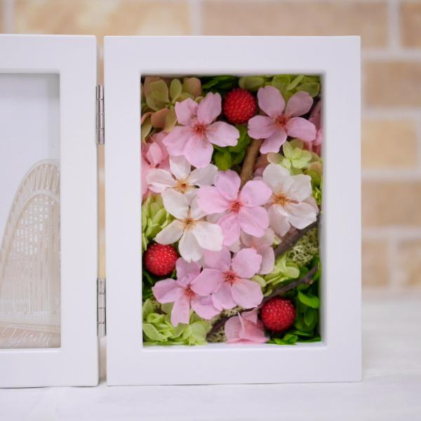 プリザーブドフラワー 桜 入学祝い 春 卒業祝い