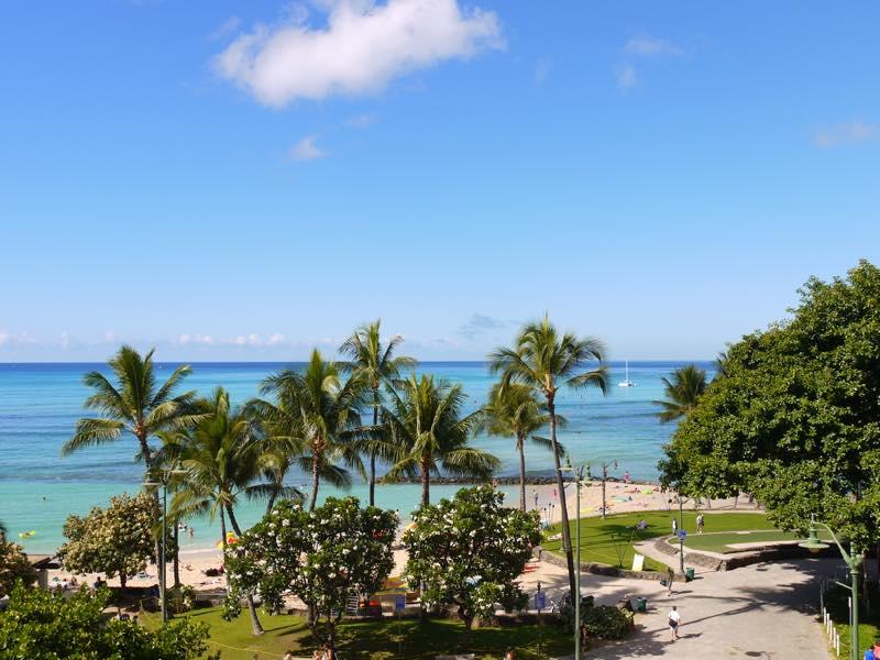 気分だけでもハワイに♪