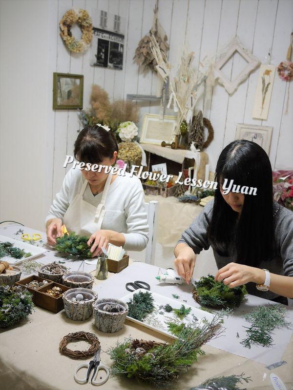 福岡のプリザーブドフラワー教室